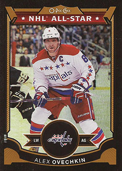 ALEXANDER OVECHKIN Memorabilia Hockey Card