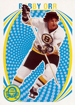 BOBBY ORR Memorabilia Hockey Card