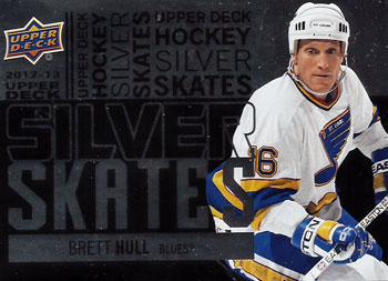 BRETT HULL Memorabilia Hockey Card