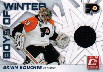 BRIAN BOUCHER Memorabilia Hockey Card