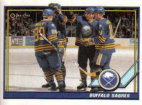 BUFFALO SABRES Memorabilia Hockey Card