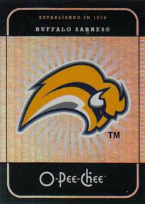 BUFFALO SABRES Memorabilia Hockey Card