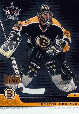 BYRON DAFOE Memorabilia Hockey Card