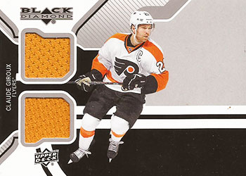 CLAUDE GIROUX Memorabilia Hockey Card