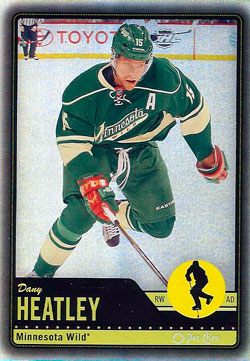 DANY HEATLEY Memorabilia Hockey Card