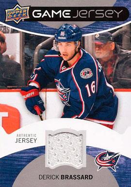 DERICK BRASSARD Memorabilia Hockey Card