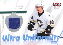 DOMINIC MOORE Memorabilia Hockey Card
