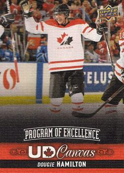 DOUGIE HAMILTON Memorabilia Hockey Card