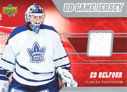 ED BELFOUR Memorabilia Hockey Card