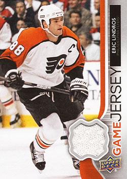 ERIC LINDROS Memorabilia Hockey Card