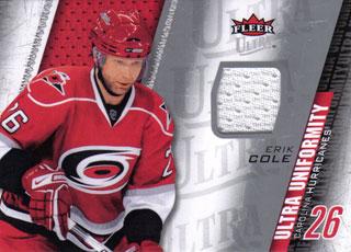 ERIK COLE Memorabilia Hockey Card