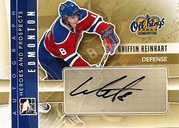 GRIFFIN REINHART Memorabilia Hockey Card