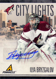 ILYA BRYZGALOV Memorabilia Hockey Card