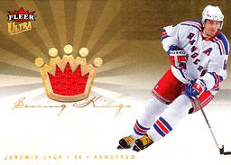 JAROMIR JAGR Memorabilia Hockey Card