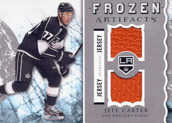 JEFF CARTER Memorabilia Hockey Card