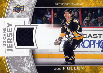 JOE MULLEN Memorabilia Hockey Card