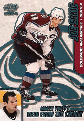 JOE SAKIC Memorabilia Hockey Card