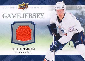 JONI PITKANEN Memorabilia Hockey Card