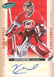 KEVIN NASTIUK Memorabilia Hockey Card