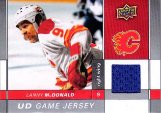 LANNY MCDONALD Memorabilia Hockey Card