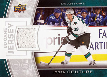 LOGAN COUTURE Memorabilia Hockey Card