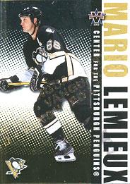 MARIO LEMIEUX Memorabilia Hockey Card