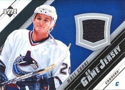 MATT COOKE Memorabilia Hockey Card