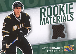 MATT NIKSKANEN Memorabilia Hockey Card