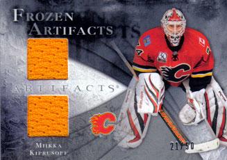 MIIKKA KIPRUSOFF Memorabilia Hockey Card