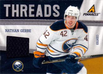 NATHAN GERBE Memorabilia Hockey Card