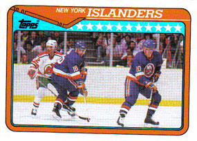 NEW YORK ISLANDERS Memorabilia Hockey Card
