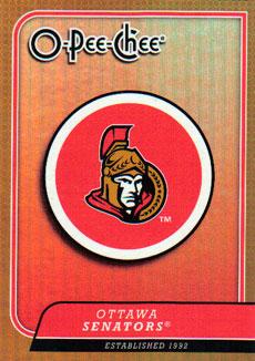 OTTAWA SENATORS Memorabilia Hockey Card