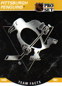 PITTSBURGH PENGUINS Memorabilia Hockey Card