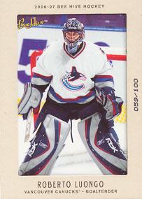 ROBERTO LUONGO Memorabilia Hockey Card