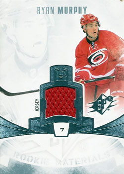 RYAN MURPHY Memorabilia Hockey Card