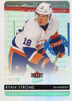 RYAN STROME Memorabilia Hockey Card