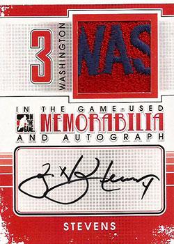 SCOTT STEVENS Memorabilia Hockey Card