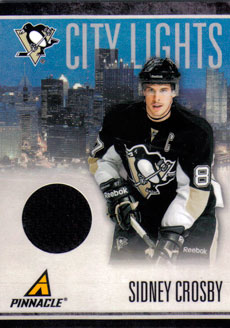 SIDNEY CROSBY Memorabilia Hockey Card