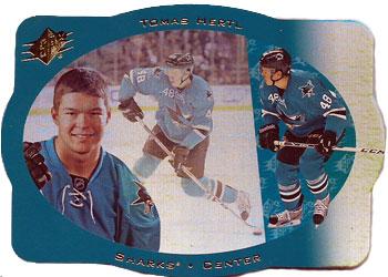 TOMAS HERTL Memorabilia Hockey Card