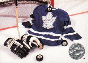 TORONTO MAPLE LEAFS Memorabilia Hockey Card