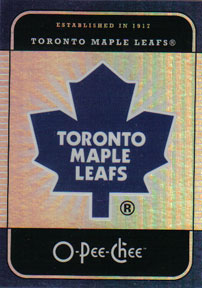 TORONTO MAPLE LEAFS Memorabilia Hockey Card