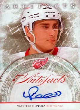 VALTTERI FILPPULA Memorabilia Hockey Card